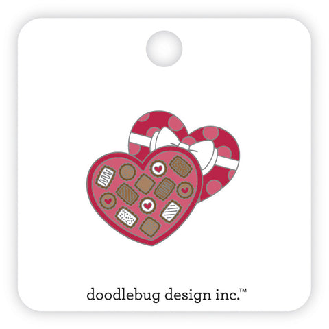 Doodlebug Design - Chocolate Box Collectible Pin
