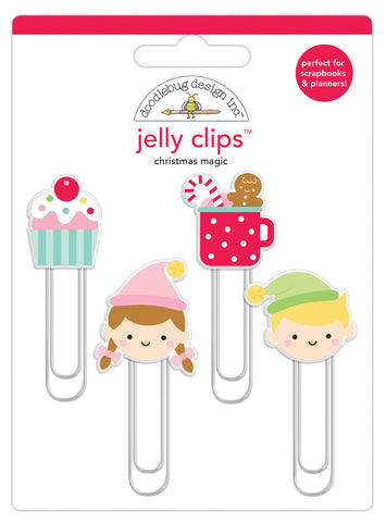 Doodlebug Design - Christmas Magic Jelly Clips