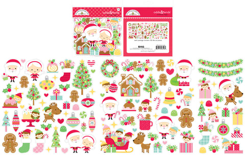 Doodlebug Design - Christmas Magic Odds & Ends