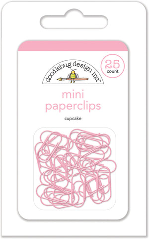 Doodlebug Design - Cupcake Mini Paperclips (25pcs)