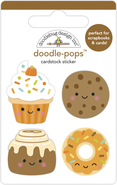 Doodlebug Design -Fall Treats Doodle-Pops