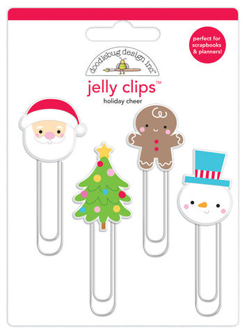 Doodlebug Design - Holiday Cheer Jelly Clips
