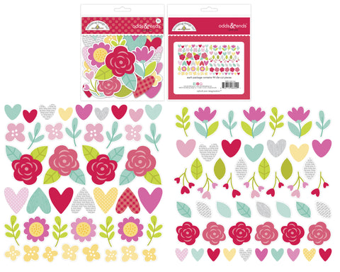 Doodlebug Design - I Pick You Odds & Ends (94pcs)