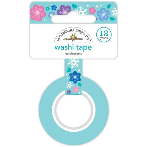 Doodlebug Design - Ice Blossoms Washi Tape