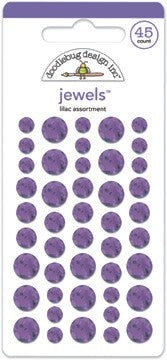 Doodlebug Design - Lilac Jewels (45pcs)