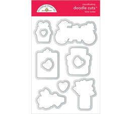 Doodlebug Design - Love Notes Doodle Cuts