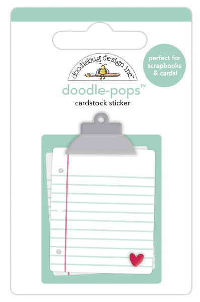 Doodlebug Design - Love Notes Doodle-Pops