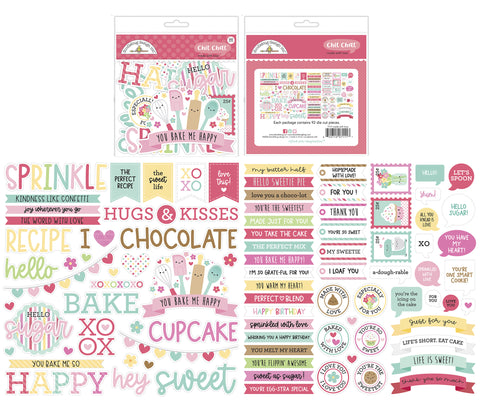 Doodlebug Design - Made With Love Chit Chat