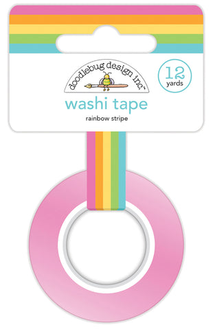 Doodlebug Design Rainbow Stripe Washi Tape