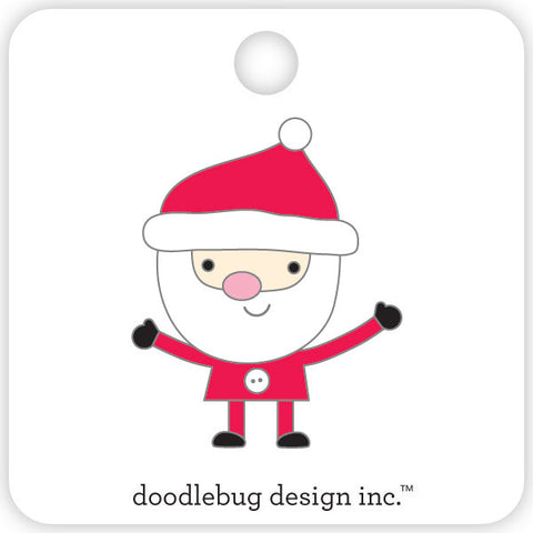 Doodlebug Design - Santa Collectible Pin