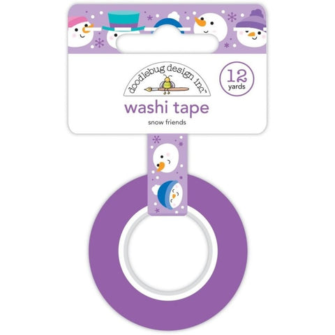 Doodlebug Design - Snow Friends Washi Tape