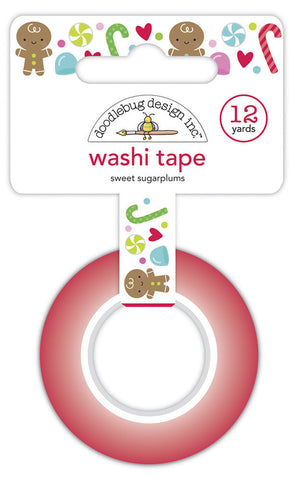 Doodlebug Design - Sweet Sugarplums Washi Tape