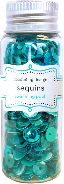 Doodlebug Design - Swimming Pool Sequins