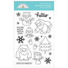 Doodlebug Design - Winter Wonderland Doodle Stamps