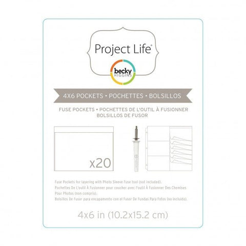 American Crafts - Becky Higgins Project life fuse pockets 20pcs.