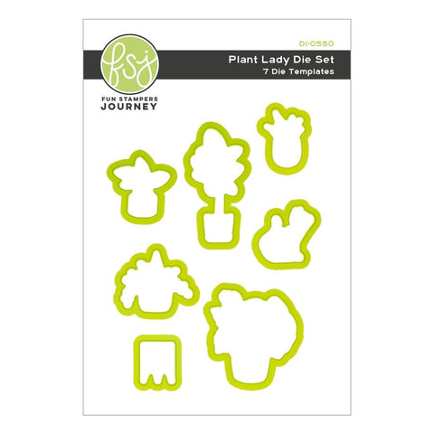Fun Stampers Journey - Plant Lady Etched Dies