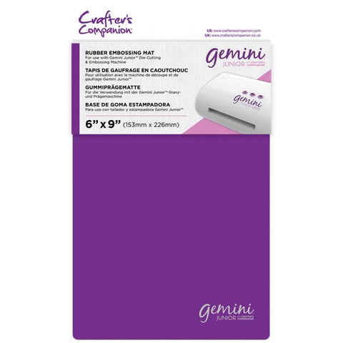 Crafter's Companion - Gemini Junior Accessories - Rubber Embossing Mat