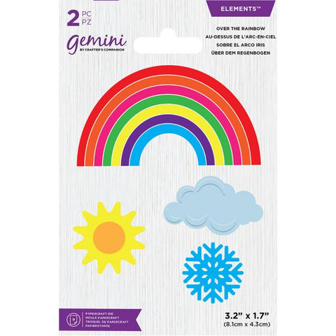 Crafter's Companion - Gemini Over the Rainbow Mini Elements Dies