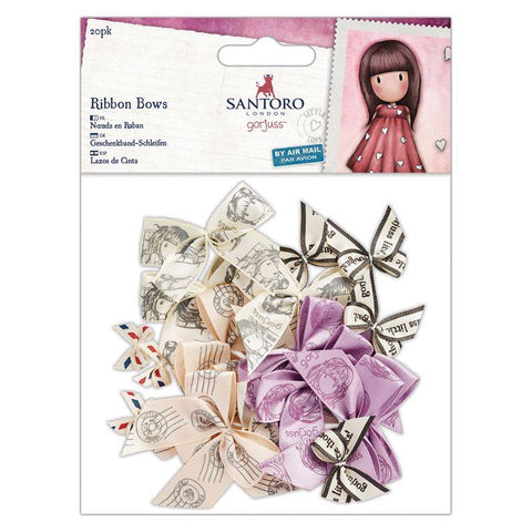 Gorjuss - Small Ribbon Bows (20pcs)