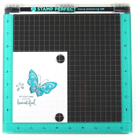 Hampton Art - Stamp Perfect Tool 25.4 x 25.4cm