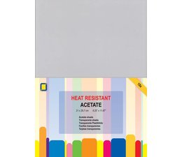 Jeje - Acetate sheets A4 Heat Resistant