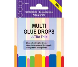 Multi Glue Drops Ultra Thin 8mm