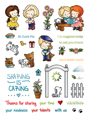 LDRS Creative - Friends Clear Stamps
