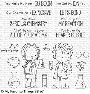 My Favorite Things - Clear Stamps Cute Chemists