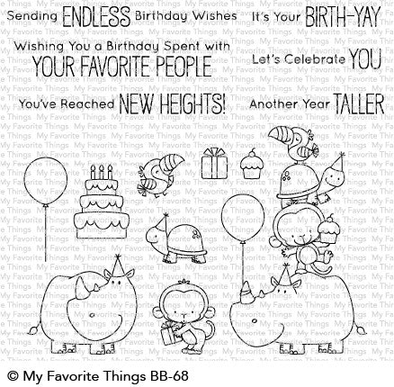 My Favorite Things - Clear Stamps Birth Yay