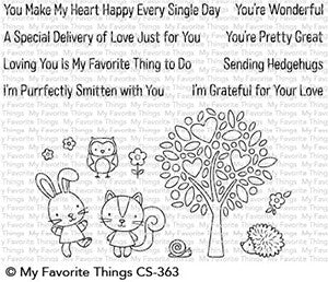 My Favorite Things Clear Stamps Wonderful Woodland Friends