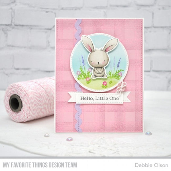 My Favorite Things - Clear Stamps Sweetest Somebunny