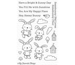 My Favorite Things - Clear Stamps Beach Bunnies