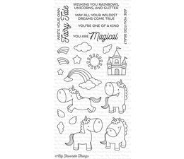 My Favorite Things - Clear Stamps Magical Unicorns