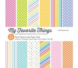 My Favorite Things - Party Patterns 6x6""