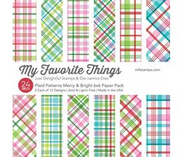 My Favorite Things - Plaid Patterns Merry & Bright 6x6""