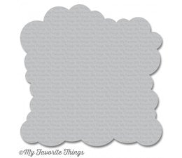 My Favorite Things - Stencil Cloud Large