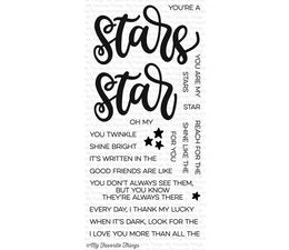 My Favorite Things - Clear Stamps Written in the Stars