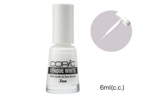 Copic - Opaque White 6ml with Brush