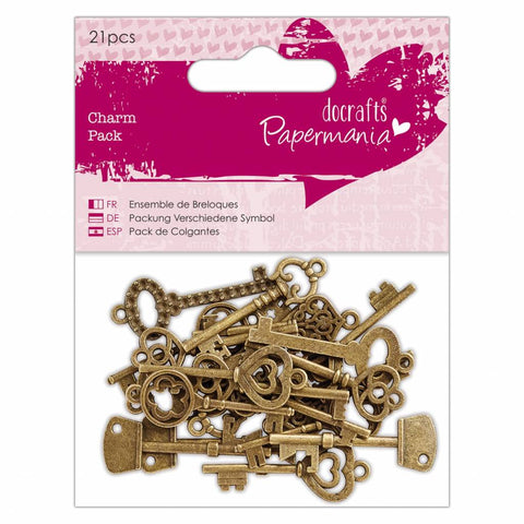 Papermania - Charm Pack Vintage Keys