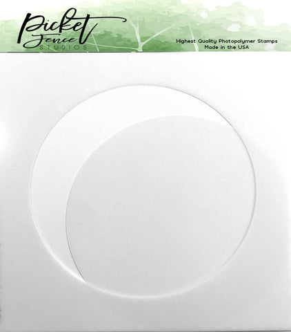 Picket Fence Studios - 4.5 Inch Circle Stencil
