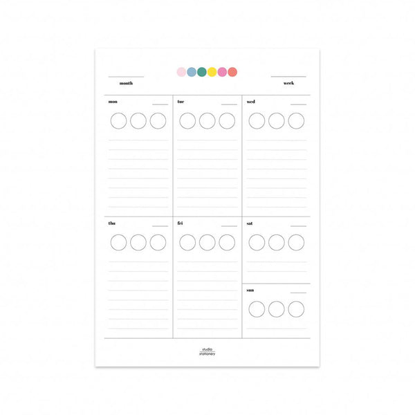 Studio Stationery - Sticker Planner