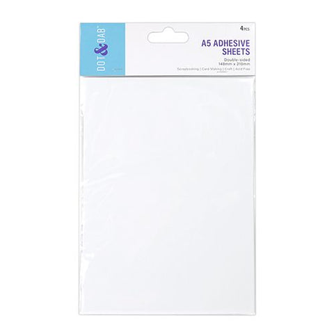 Trimcraft - Dot & Dab A5 Adhesive Sheets (4pcs)