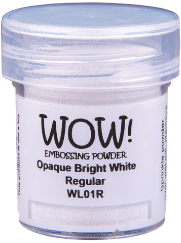 Wow! - Embossing Powder Opaque Bright White