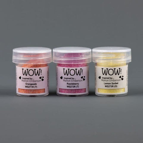 WOW! -  Trio Embossing Powder Summer Scoops