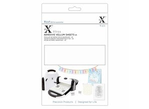 Docrafts - Xcut Xtra's A5 Adhesive Vellum Sheets White (15pcs)
