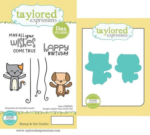 Taylored Expressions - Yippee Critters Stamp & Die Combo