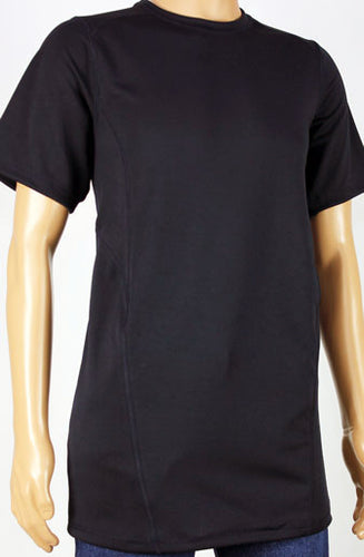 Shirts - Black Short Sleeve Shirt