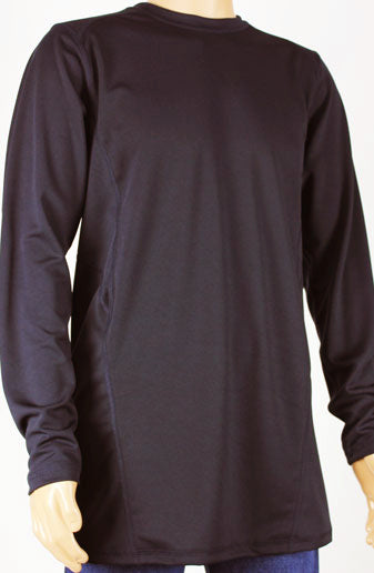 Shirts - Black Long Sleeve Shirt