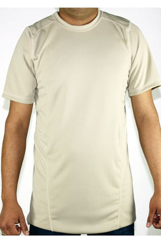 Shirts - Khaki Short Sleeve Shirt