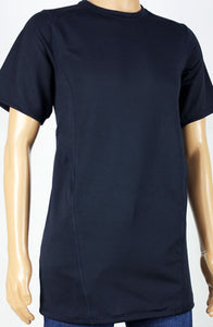 Shirts - Navy Short Sleeve Shirt